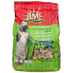 L/M Animal Farms 12242 Large Parrot Diet 6 Pound