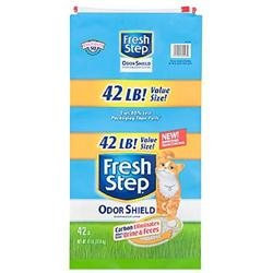 Clorox Petcare 30503 Fresh Step Odor Shield Cat Litter - 42 Lbs.