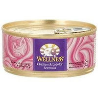 Wellness Adult Chicken and Lobster Canned Cat Food