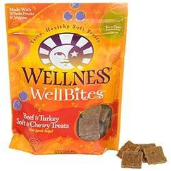 Wellness WellBites Beef and Turkey Soft and Chewy Dog Treats