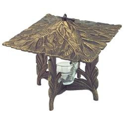 Whitehall Products Pinecone Tea Lantern - French Bronze 30168