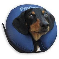 G & B Marketing ProCollar Premium Inflatable Protective Collar, Small, Color: Blue