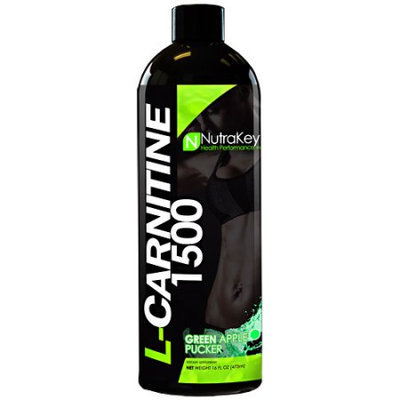 Nutrakey 6150083 L-carnitine 1500 Green Apple