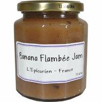 Epicurien Banana Flambee Jam 11.7 oz