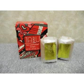 Tabu Two Perfumed Soaps