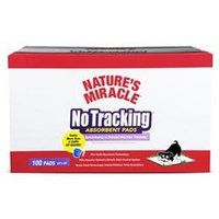 United Pet Nature's Miracle No Tracking Absorbent Pads - 100 pack