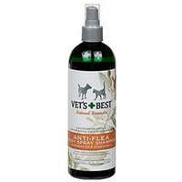Vet's Best Natural Anti-Flea Easy Spray Shampoo - 16 oz