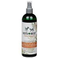 Vet's Best Natural Anti-Flea Easy Spray Shampoo - 16 oz
