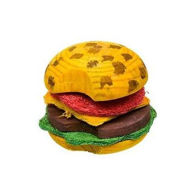 Superpet Pets International SSR62041 Combo Toy Crispy And Wood Hamburger
