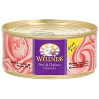 Wellness Adult Beef and Chicken Canned Cat Food