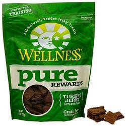 Wellpet Llc Wellness Pure Rewards Turkey Jerky Bits Dog Treats