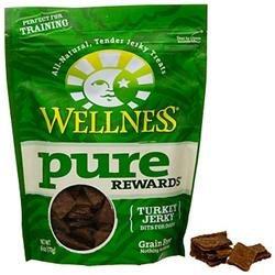 Wellpet Llc Wellness Pure Rewards Turkey Jerky Bits Dog Treats