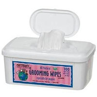 Earthbath Puppy Pet Grooming Wipes 100 ct