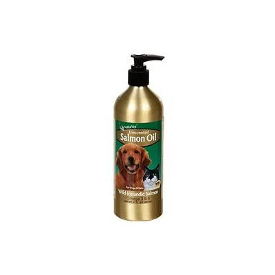 NaturVet Salmon Oil - Unscented for Dogs & Cats