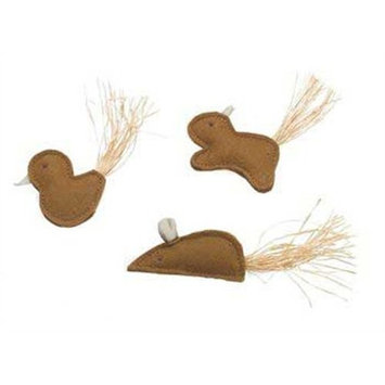Ethical Eco Cat Natural Animal Cat Toy, Assorted