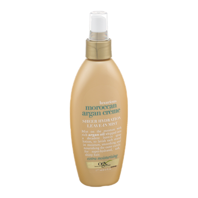 OGX® Sheer Hydration Leave-in Mist Luxurious Moroccan Argan Creme