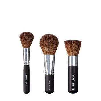 VEGAN LOVE Tapered Cheek Flawless Face Handi Flat Top Brush Trio