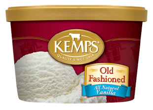 Kemps Ice Cream Old Fashioned All Natural Vanilla