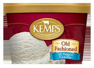 Kemps Ice Cream Old Fashioned All Natural Vanilla