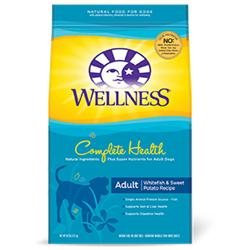 Wellpet Llc Wellness Complete Health Adult Whitefish & Sweet Potato