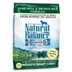 Natural Balance LID Lamb Dry Dog Food 28lb