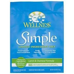 Phillips Feed & Pet Supply Wellness Simple Dry Dog Lamb & Oatmeal 26 lbs