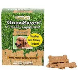 NaturVet GrassSaver Dog Biscuits (10 oz.; Peanut Butter)
