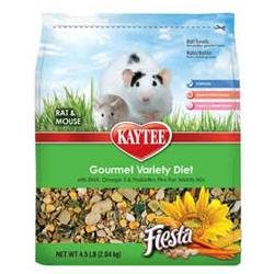 Kaytee Products Inc - Fiesta Max Mouse-rat 4.5 Pound