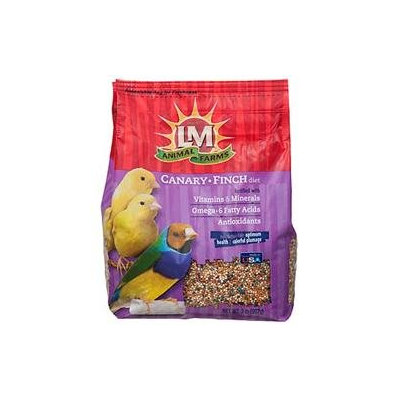 L/M Animal Farms 12217 Lm Canary & Finch Diet 2 Pound