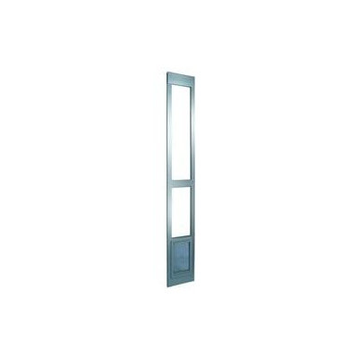 Perfect Pet Small Modular Patio Panel Pet Door - Color: Mill
