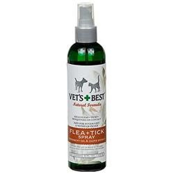 Vet's Best Natural Flea and Tick Spray - 8 oz.