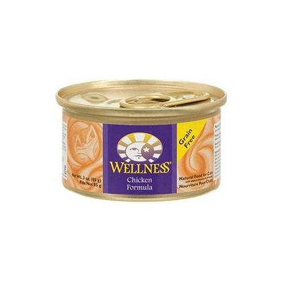 Wellness Canned Cat Food Chicken - 3 oz