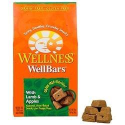 Wellpet Llc Wellness WellBars Lamb & Apple 20oz Box Dog Treats