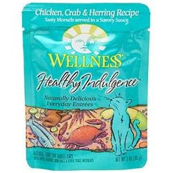Wellness Pet Products 62067 Chicken Crab Her Pouchcat Food