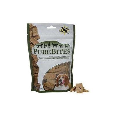 Purebites Beef Liver Dog Treats, 4.2 oz.
