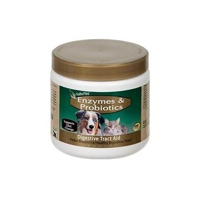 NaturVet Enzymes & Probiotics Digestive Tract Aid for Pets