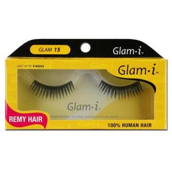 Glam-I 15 Full Strip Human Hair Eyelashes