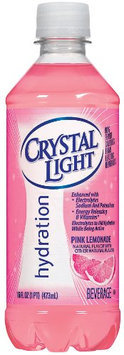 Crystal Light Ready To Drink Pink Lemonade