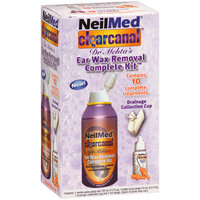 NeilMed ClearCanal Dr Mehta's Ear Wax Removal Complete Kit, 5 pc