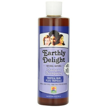 Earthly Delight Tropical Rain Shampoo, 16 Ounce
