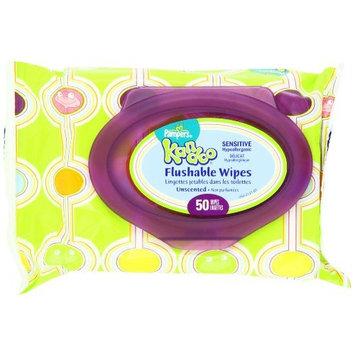Pampers Kandoo Flushable Sensitive Wipes