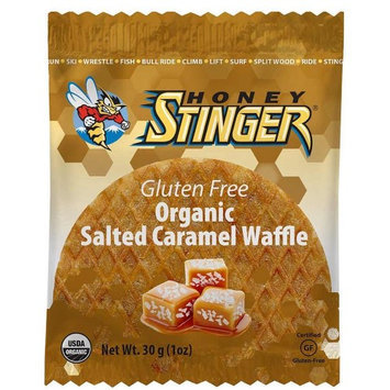 Honey Stinger Gluten Free Organic Salted Caramel Waffle - Box of 16