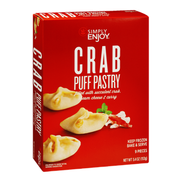 Ahold Simply Enjoy Crab Puff Pastry - 9 CT
