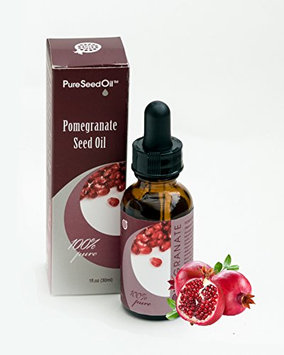 Anti-Aging Pomegranate Pure-Seed-Oil. All-Natural Cold-Pressed|Undiluted-Carrier-Oil. Great for Face/Hair/Body. Use Alone or Infuse favorite Luxury-Skin-Care Products! Gluten-Free|Parabens-Free 1 oz