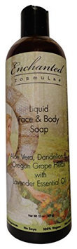 Liquid Face & Body Soap with Lavender Essential Oil