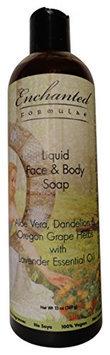 Liquid Face & Body Soap with Lavender Essential Oil