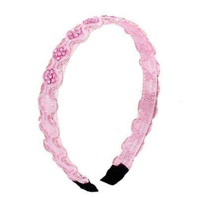 Uxcell Girls Plastic Frame Rhinestone Inlay Headband Hair Hoop