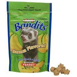 Marshall Pet Products Marshall Pet Bandit Ferret Treats Banana 4 oz.