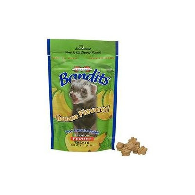 Marshall Pet Products Marshall Pet Bandit Ferret Treats Banana 4 oz.