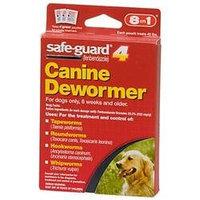 Durvet Safe Guard Dog Wormer Fenbendazole Granules 4 Gm Pk
